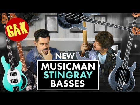 NEW 2018 Musicman StingRay Special Basses!