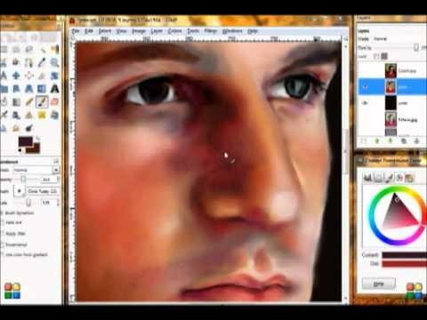 Speed Painting - Portrait (MechMoe)