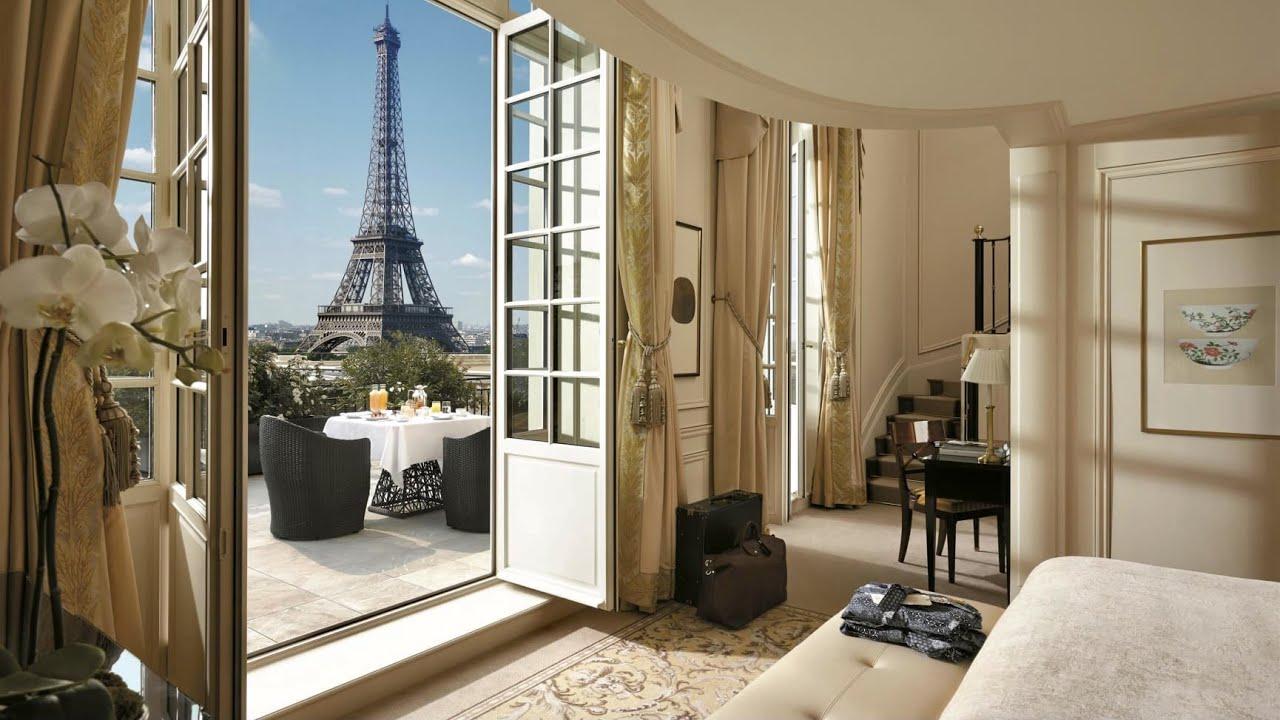 SHANGRI-LA PARIS   Best luxury hotel in Paris (full tour in 4K)