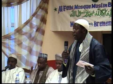 AL-FATHI MOSQUE BREMEN MAULID NABI 2012 PART 2