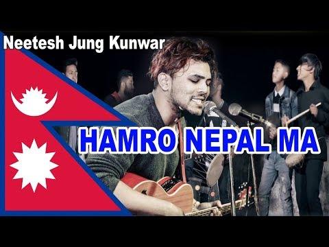 Neetesh Jung Kunwar Singing Hamro Nepal Ma @ Jhankar Live Show with Swoyatna Yonjan
