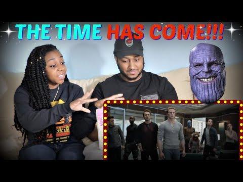 """Marvel Studios' """"Avengers: Endgame"""" Special Look Trailer REACTION!!!"""