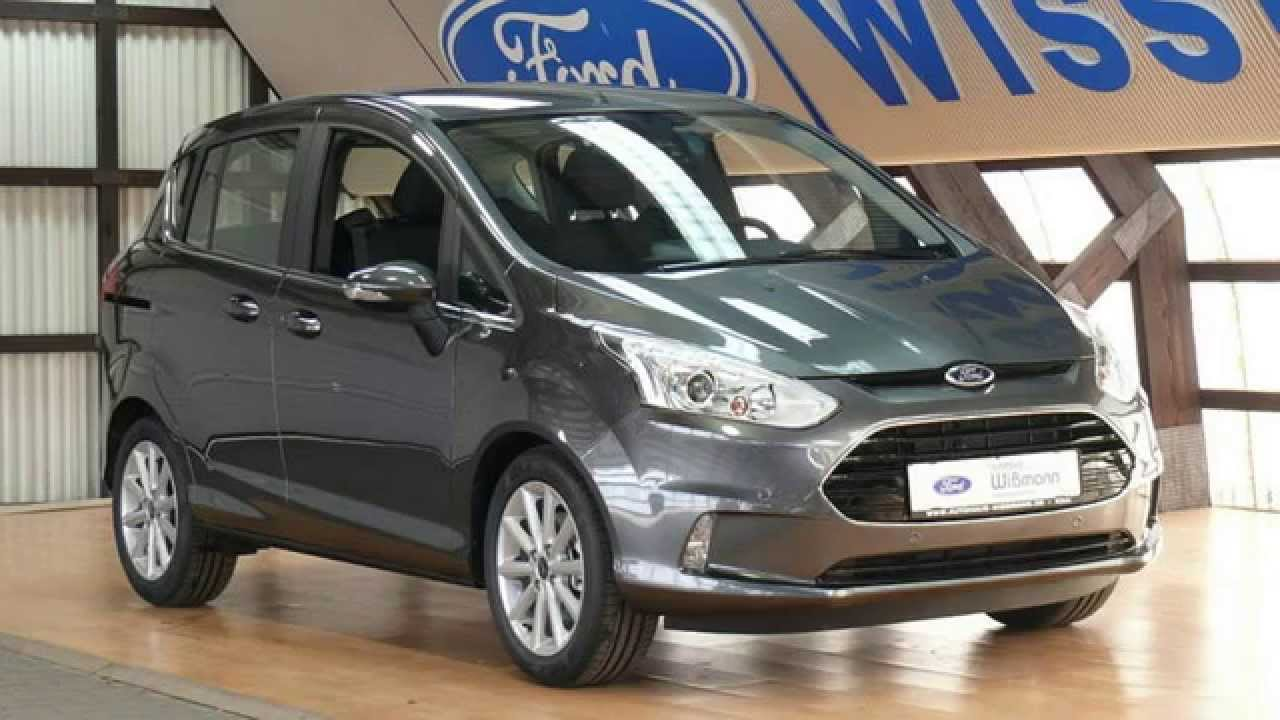 ford b max titanium erjkfk72242 magnetic grau 2015. Black Bedroom Furniture Sets. Home Design Ideas