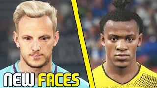 AMAZING New Faces from a FIFA 18 Rival (Rakitic, Mina & More) #2