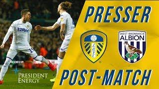 Marcelo Bielsa   Leeds United 4-0 West Brom   Post-match reaction