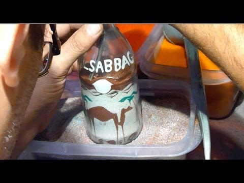 Learn how to do the sand art bottle (3)