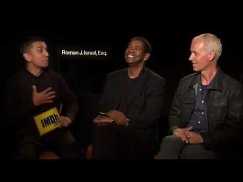 Denzel Washington & Dan Gilroy Discuss Roman J. Israel, Esq. (2017) | IMDb EXCLUSIVE