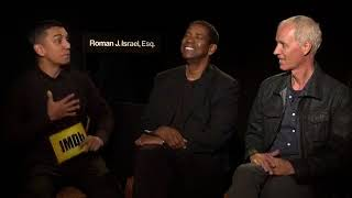 Denzel Washington & Dan Gilroy Discuss Roman J. Israel, Esq. (2017) | IMDb EXCLUSIVE