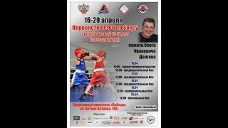 Первенство Сибири среди юношей 13−14 лет. Полуфиналы. Барнаул. 19 апреля 2019г.