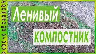 ЛЕНИВАЯ КОМПОСТНАЯ ГРЯДКА!