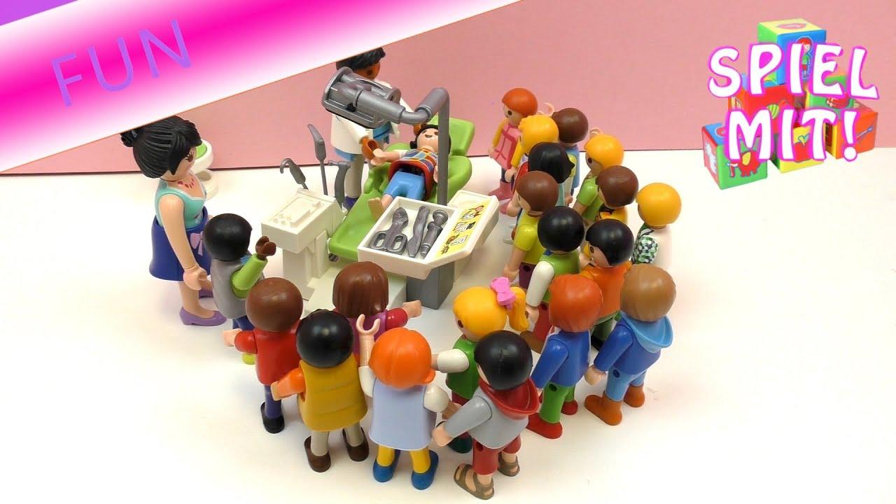 Playmobil Film Deutsch Chrissi Und Lena Mit Schulklasse Beim