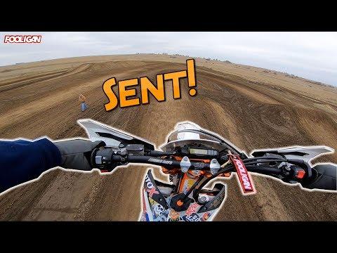 Racing my KTM 500exc at Razor's Edge MX