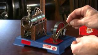 How to Use a Wilesco Oscillating Steam Engines