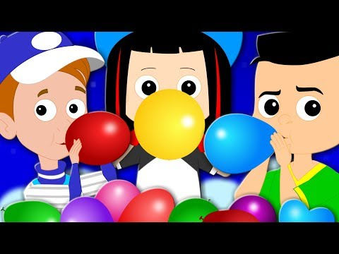 Balloon Song | Original Nursery Rhymes | Baby Songs | Children Rhymes | Kids Tv Cartoon Videos