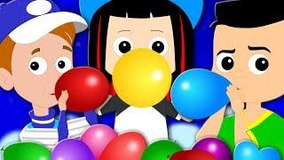Balloon Song | Original Nursery Rhymes | Baby Songs | Children Rhymes | Kids Tv Cartoon Videos