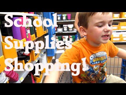School supplies shopping {Daily Vlog}