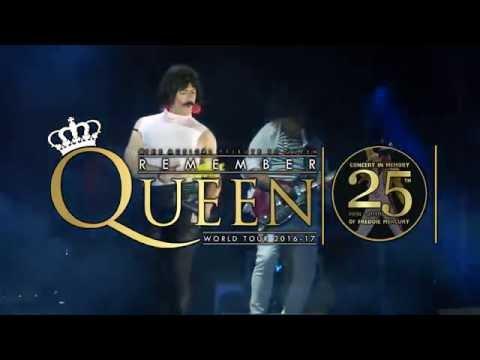 Remember Queen - 25th Freddie Mercury Memory Tour