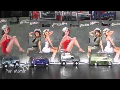 Revisión / 1:64 Hot Wheels Pop Culture Serie Nose Art