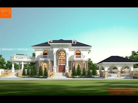 """Ngôi nhà 2 tầng Tân Cổ Điển đẹp """"như Tây"""" dành cho gia đình bạn"""