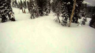 Alpine Meadows-High Traverse POWDER RUN Thumbnail