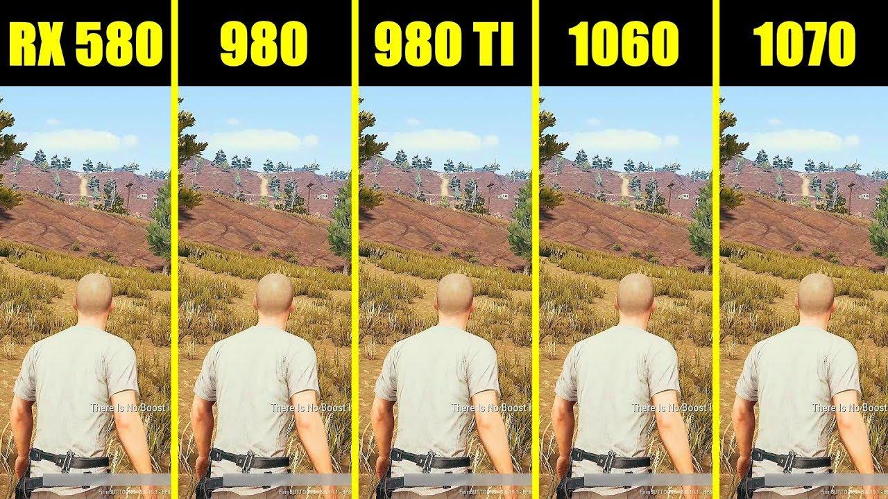 r9 390 vs gtx 1060 pubg