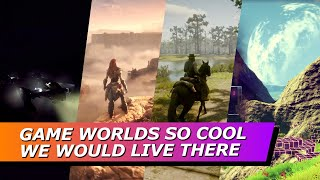 These Are The Game Worlds We Would Love To Visit In Real Life - ScreenPlayers Podcast 12