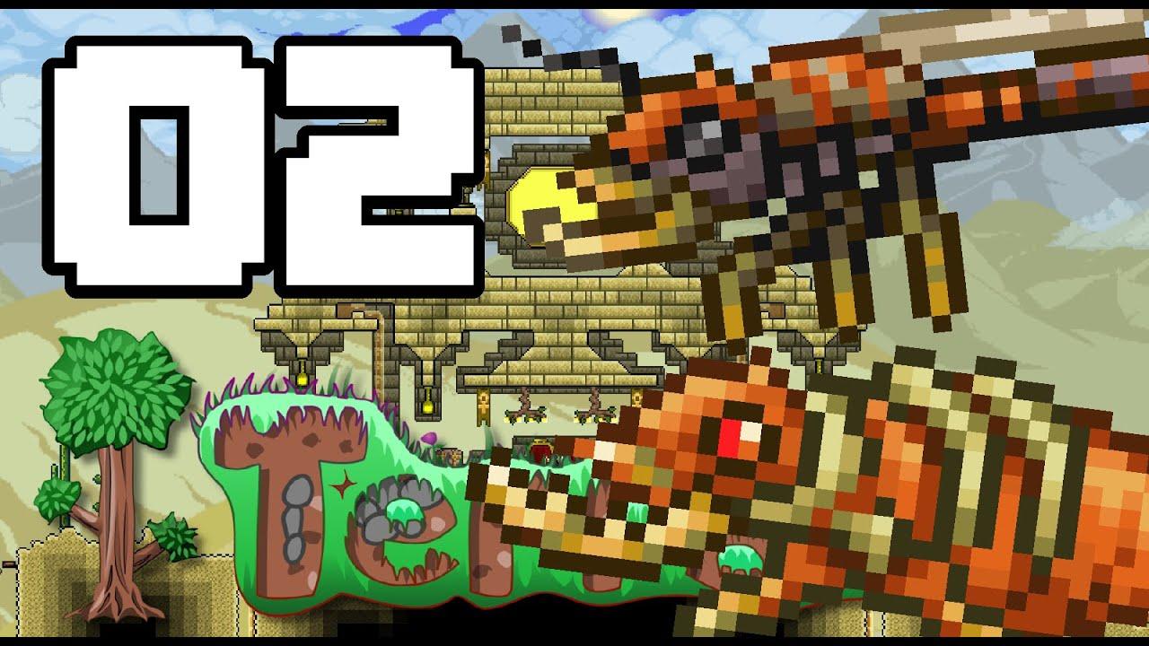 Antlion Nest Terraria 1 3 Ep 2 Youtube