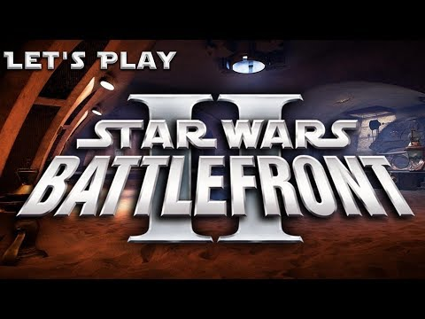 "Let's Play ""Star Wars: Battlefront 2 (Classic: 2005)"" [Round 2: Part 1] ""Jabba's Palace"" 