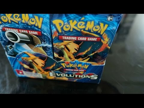 AMAZING LUCK! Pack Battle Rhymestyle vs Leonhart | Pokemon XY Evolution Booster Pack Openings