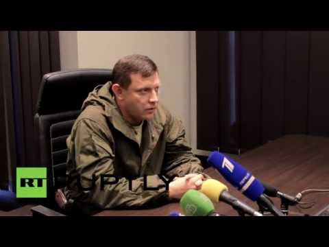 "Ukraine: ""Fighting in Donetsk decreasing"" - DPR/DNR PM"