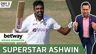 ASHWIN AMAZES with the BALL & BAT | Betway Mission Domination | Day 3 Review | Aakash Chopra