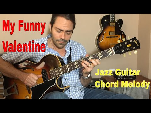 My Funny Valentine - Jazz Guitar Chord Melody
