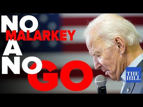 Panel: Biden's 'No Malarkey' tour sputters to a stop