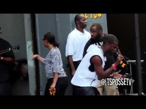 """Shaliek - Performs """"The Past & Ain't Suppose to Cry"""" In Brooklyn"""