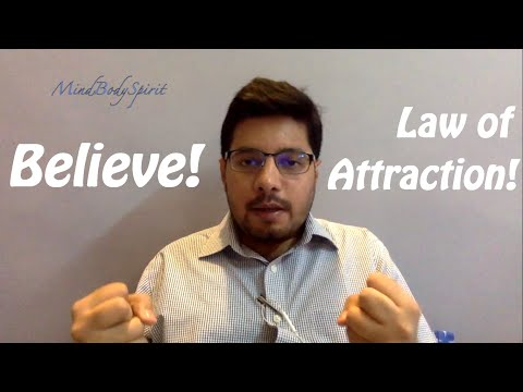 How to Believe it's Working - Law of Attraction and Belief