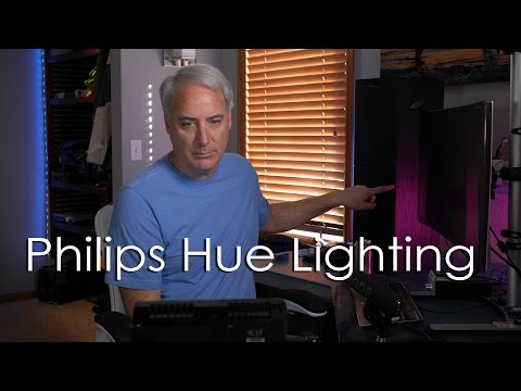 Philips Hue Starter Kit and Lightstrip Plus Demonstration