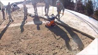 Air force heavy equipment training
