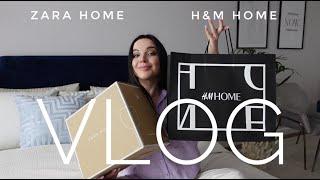 ВЛОГ Новый H M Home в Санкт Петербурге Шоппинг влог и покупки для дома Н M HOME и ZARA HOME