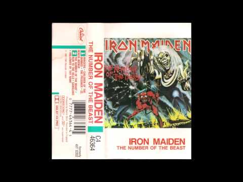 [Cassette] Iron Maiden - The Number Of The Beast - Side 1 (HQ Audio)