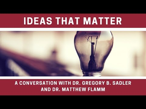 A Conversation with Matt Flamm - Ideas That Matter