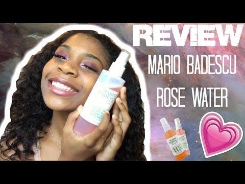 Review│Mario Badescu Rose Water Facial Spray