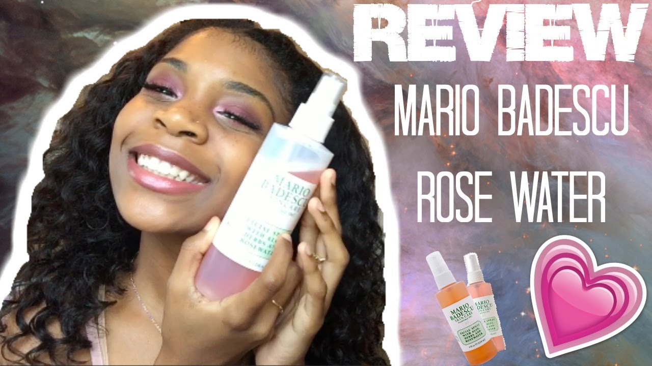 Review Mario Badescu Rose Water Facial Spray