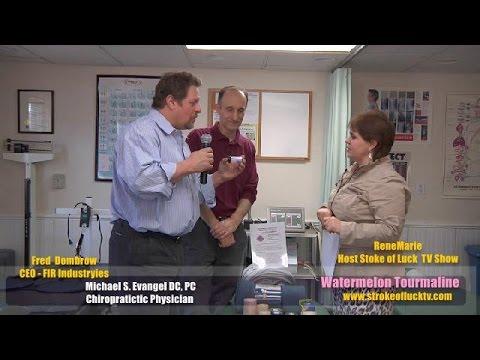 What is WATERMELON TOURMALINE? RenéMarie  Stroke of Luck TV Show