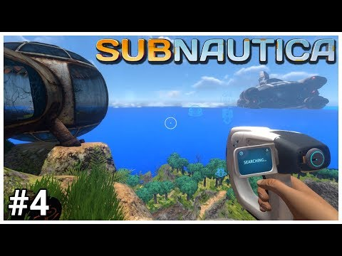 Subnautica - #4 - Ashore - Let's Play / Gameplay / Construction