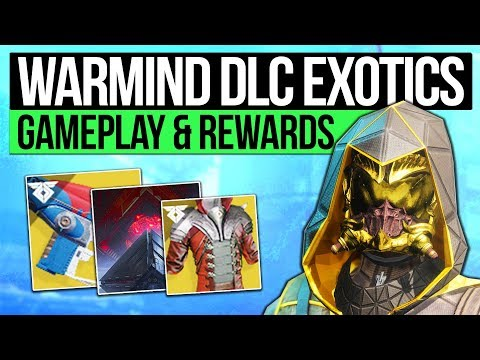 Destiny 2 News | NEW WARMIND EXOTICS & END GAME! Secret Collectables, Reward Systems & Mars Gameplay thumbnail