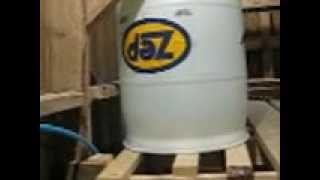 Pig Pen Setup with Gravity Fed Water System