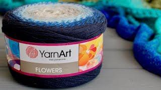 ПРЯЖА YarnArt FLOWERS. Подробный обзор и ЧЕСТНЫЙ отзыв о пряже.