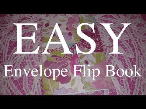 Easy Envelope Flip Book Tutorial For Beginners Youtube