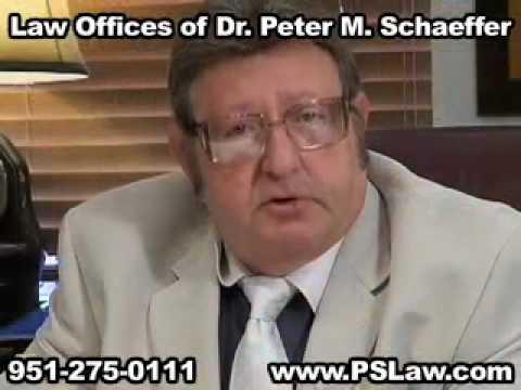 Schaeffer Law Office of Dr Peter M Riverside, CA