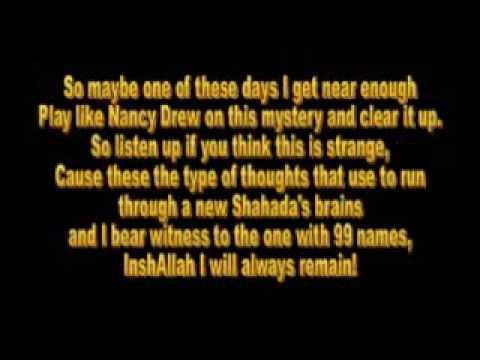m u s l i m by native deen with lyrics youtube